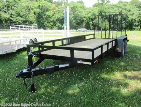 New 2019 Triple Crown 7x18 TA Open Sides 10K For Sale by Blue Ridge Trailer Sales available in Ruckersville, Virginia