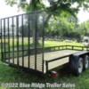 Blue Ridge Trailer Sales 2019 7x18 TA Open Sides 10K  Landscape Trailer by Triple Crown | Ruckersville, Virginia