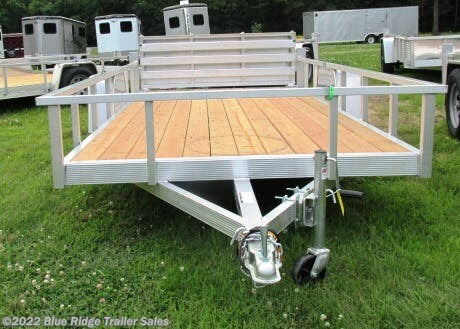 New 2020 Sport Haven AUT 6x10  Wood Deck Open Side w/Bi Fold Gate For Sale by Blue Ridge Trailer Sales available in Ruckersville, Virginia