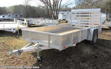 New 2020 Sport Haven AUT - S 6x10 Wood Deck Solid Side For Sale by Blue Ridge Trailer Sales available in Ruckersville, Virginia