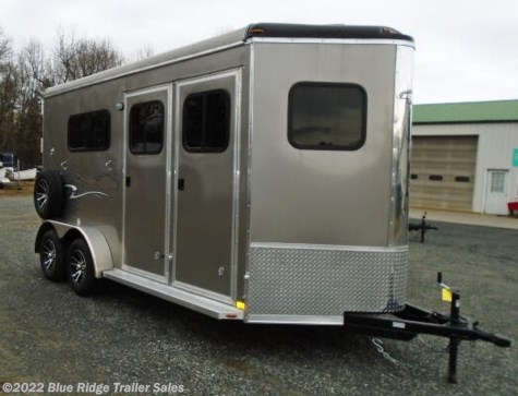 "New 2020 Homesteader Stallion 2H BP w/Dress 7'8""x7' For Sale by Blue Ridge Trailer Sales available in Ruckersville, Virginia"