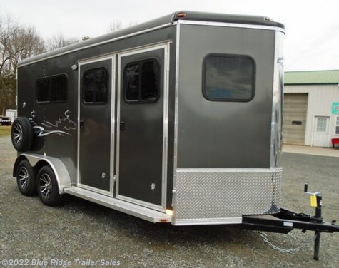 "New 2021 Homesteader Stallion 2H BP w/Dress 7'8""x7' For Sale by Blue Ridge Trailer Sales available in Ruckersville, Virginia"