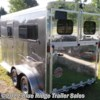 "2020 Homesteader Stallion 2H BP w/Dress 7'8""x7'  - Horse Trailer New  in Ruckersville VA For Sale by Blue Ridge Trailer Sales call 434-985-4151 today for more info."