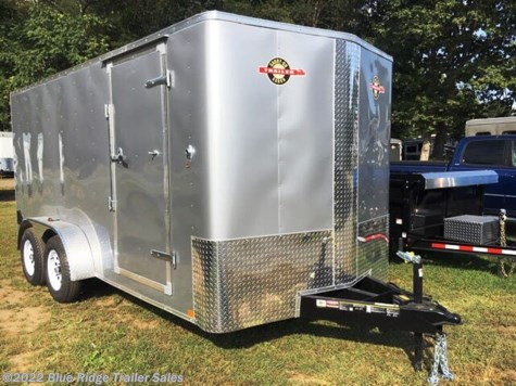 "New 2020 Carry-On 7x16, 6'6"" Tall, Rear Ramp For Sale by Blue Ridge Trailer Sales available in Ruckersville, Virginia"