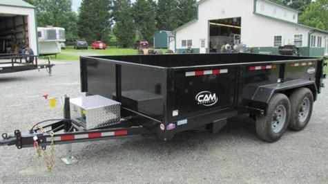 New 2020 CAM Superline 7x12 12K 3 Way Gate w/Ladder Ramps For Sale by Blue Ridge Trailer Sales available in Ruckersville, Virginia