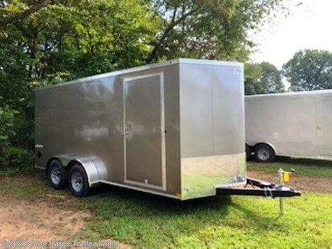 "New 2020 Haulmark Transport 7x16 TA V Nose 6'6"" Tall For Sale by Blue Ridge Trailer Sales available in Ruckersville, Virginia"