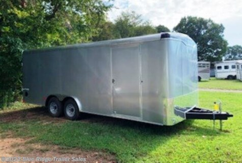 "New 2020 Haulmark Transport 8.5x20 TA Round Nose 6'6"" Tall For Sale by Blue Ridge Trailer Sales available in Ruckersville, Virginia"