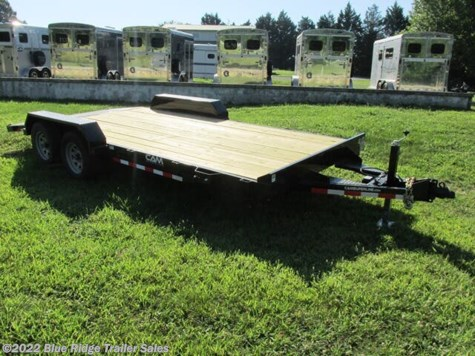 New 2020 CAM Superline 14 + 4 Wood Deck Car Hauler For Sale by Blue Ridge Trailer Sales available in Ruckersville, Virginia