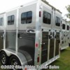 "Blue Ridge Trailer Sales 2020 2H BP w/3' Dress 7'6""x6'8\""  Horse Trailer by River Valley 