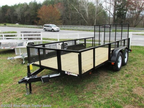 "New 2020 Triple Crown 7x16 TA w/24"" Mesh Sides and 4' Gate For Sale by Blue Ridge Trailer Sales available in Ruckersville, Virginia"