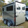 "Blue Ridge Trailer Sales 2020 2H BP no Dress 7'6""x6'8\""  Horse Trailer by Hawk Trailers 