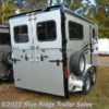 "Blue Ridge Trailer Sales 2020 2H BP w/Side Ramp and Dress 7'6""x6'8\""  Horse Trailer by Hawk Trailers 
