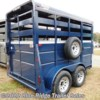 Blue Ridge Trailer Sales 2020 7'x6' Stock with Single Rear Door and Slider  Horse Trailer by Valley Trailers | Ruckersville, Virginia