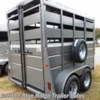 "Blue Ridge Trailer Sales 2020 7'6""x6' Stock with Double Doors  Horse Trailer by Valley Trailers 