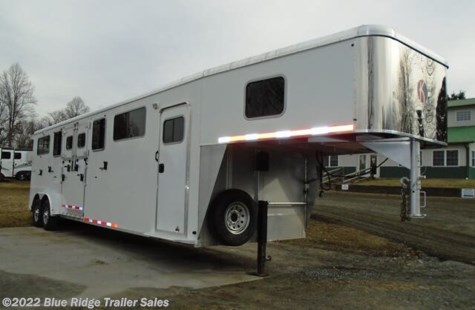 "Used 2015 Kiefer Evolution 4 H Head to Head w/Dress 7'6""x7'2\"" For Sale by Blue Ridge Trailer Sales available in Ruckersville, Virginia"