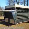 "2014 Homesteader 24' Stock 6'8"" Tall, 6'8\"" Wide, 2 Cut Gates  - Livestock Trailer Used  in Ruckersville VA For Sale by Blue Ridge Trailer Sales call 434-985-4151 today for more info."