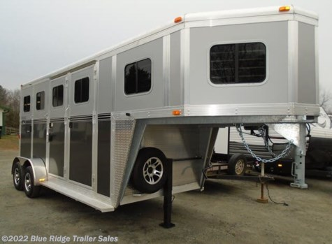 "New 2020 River Valley 2H GN w/Dress 7'6""x6'8\"" For Sale by Blue Ridge Trailer Sales available in Ruckersville, Virginia"