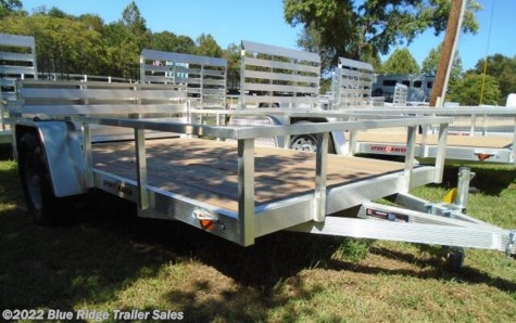 New 2020 Sport Haven AUT 6x12  Wood Deck Open Side w/Bi Fold Gate For Sale by Blue Ridge Trailer Sales available in Ruckersville, Virginia