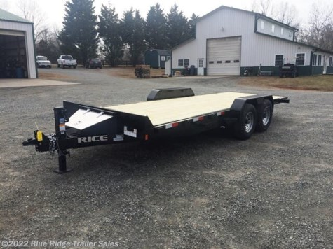 New 2020 Rice Trailers 20' Tilt 14K For Sale by Blue Ridge Trailer Sales available in Ruckersville, Virginia