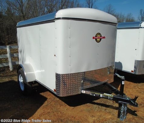 "New 2020 Carry-On 5x8 Economy, 4'6"" Tall, Single Rear Door For Sale by Blue Ridge Trailer Sales available in Ruckersville, Virginia"