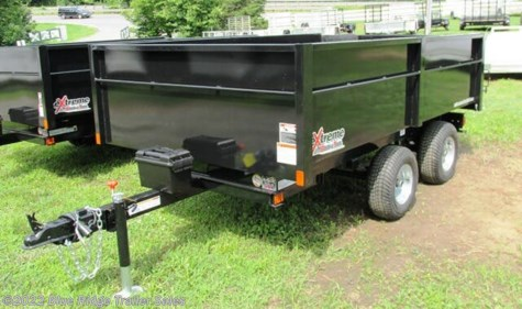 "New 2020 Extreme Road & Trail XRT-4 5.5x9 48"" Sides, Bi-Fold Gate For Sale by Blue Ridge Trailer Sales available in Ruckersville, Virginia"
