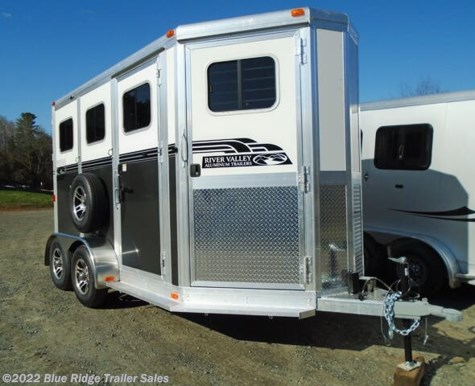 "New 2020 River Valley 2H BP w/3' Dress 7'6""x6'8\"" For Sale by Blue Ridge Trailer Sales available in Ruckersville, Virginia"