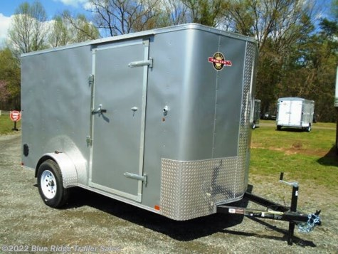"New 2020 Carry-On 6x12 Bull Nose w/Rear Ramp, 6'6"" Tall For Sale by Blue Ridge Trailer Sales available in Ruckersville, Virginia"