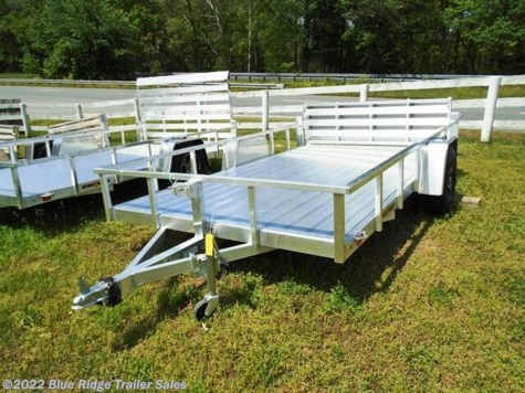New 2020 Sport Haven AUT - D 7x12 Deluxe Open Sides w/Bi-Fold Gate For Sale by Blue Ridge Trailer Sales available in Ruckersville, Virginia