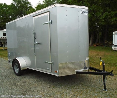 "New 2021 Haulmark Passport 6x12 SA, Rear Ramp, 6'6"" Tall For Sale by Blue Ridge Trailer Sales available in Ruckersville, Virginia"