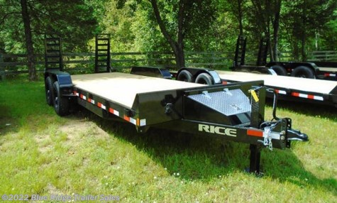 New 2020 Rice Trailers 16 + 2 14K Equipment Hauler For Sale by Blue Ridge Trailer Sales available in Ruckersville, Virginia