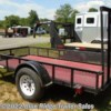 "Blue Ridge Trailer Sales 2013 5 x 10 SA Trailer with 12"" Mesh  Utility Trailer by Carry-On 