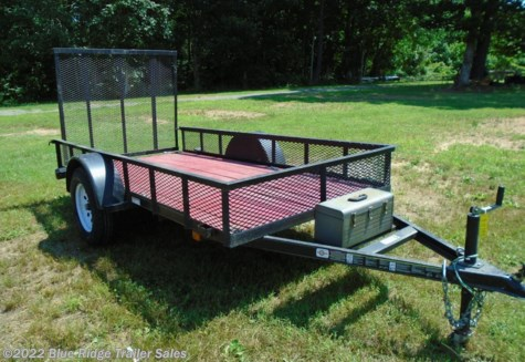 "Used 2013 Carry-On 5 x 10 SA Trailer with 12"" Mesh For Sale by Blue Ridge Trailer Sales available in Ruckersville, Virginia"