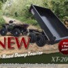 New 2021 Extreme Road & Trail XRT-2 OFF ROAD 4' x 6' DUMP For Sale by Blue Ridge Trailer Sales available in Ruckersville, Virginia