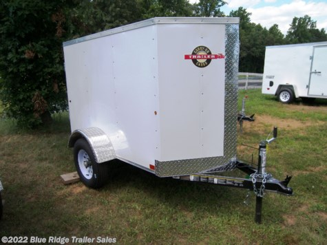 "New 2021 Carry-On 4x6, 3'6"" Tall, Single Rear Door For Sale by Blue Ridge Trailer Sales available in Ruckersville, Virginia"
