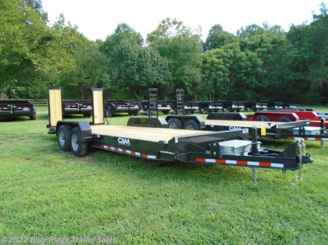 New 2021 CAM Superline 5 Ton Equipment Hauler 12K 20' For Sale by Blue Ridge Trailer Sales available in Ruckersville, Virginia
