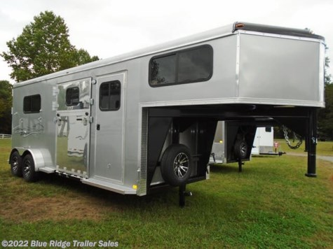 New 2021 Homesteader 2H GN w/Dress and Side Ramp 7'8x7' For Sale by Blue Ridge Trailer Sales available in Ruckersville, Virginia