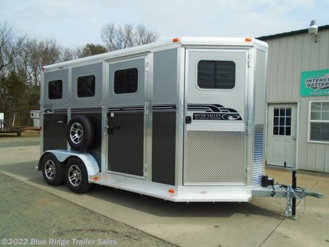 "New 2021 River Valley 2H BP w/5ft Dress 7'6""x6'8\"" For Sale by Blue Ridge Trailer Sales available in Ruckersville, Virginia"