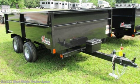 "New 2021 Extreme Road & Trail 5.5 x 9 w/18"" Sides, Barn Doors & Ramps For Sale by Blue Ridge Trailer Sales available in Ruckersville, Virginia"