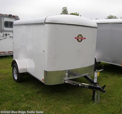 New 2021 Carry-On 5x8, Single Rear Door, 5' Tall For Sale by Blue Ridge Trailer Sales available in Ruckersville, Virginia