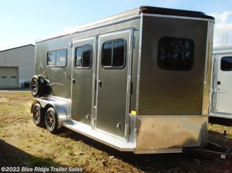 New 2021 Homesteader Stallion 2H BP with Dress 7'8 x 7 For Sale by Blue Ridge Trailer Sales available in Ruckersville, Virginia