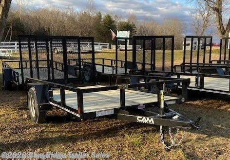 New 2021 CAM Superline 6x12 SA Open Sides For Sale by Blue Ridge Trailer Sales available in Ruckersville, Virginia
