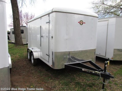 "New 2021 Carry-On 7x16, Double Doors, 6'6"" Tall For Sale by Blue Ridge Trailer Sales available in Ruckersville, Virginia"