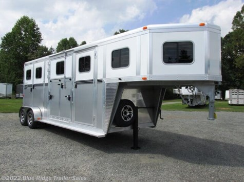 "New 2021 River Valley 2H GN w/Dress & Side Ramp, 7'6""x6'8\"" For Sale by Blue Ridge Trailer Sales available in Ruckersville, Virginia"