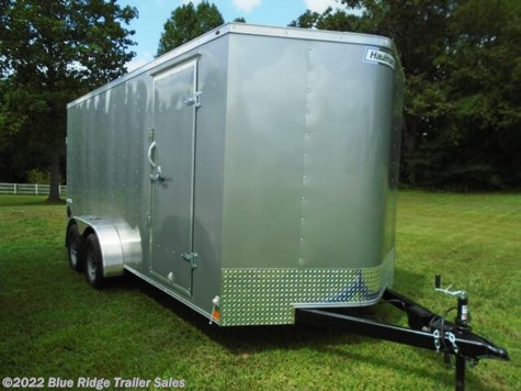 "New 2021 Haulmark 7x14, Rear Ramp, 6'6"" Tall For Sale by Blue Ridge Trailer Sales available in Ruckersville, Virginia"