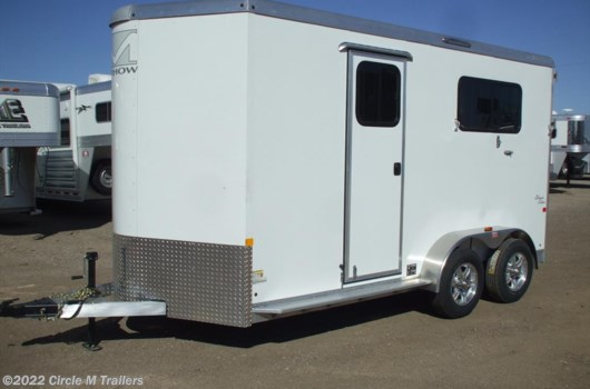 2 Horse Trailer - 2018 Merhow Bronco 2 Horse warmblood STRAIGHT LOAD available New in Kaufman, TX