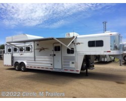 "#7841045 - 2018 Platinum Coach Outlaw 4 Horse SIDE LOAD 10'4"" SW Outlaw & ONAN"