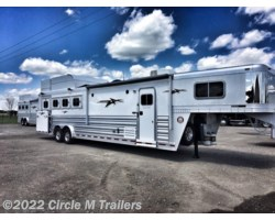 "#8741285 - 2018 Platinum Coach Outlaw 4 Horse 12' 8"" OUTLAW SIDE LOAD"