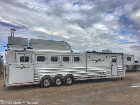 2017 Platinum Coach Outlaw  5 horse 13' SW SIDE LOAD + BUNK BED!!