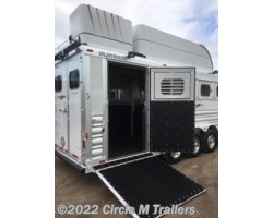 #765134 - 2018 Platinum Coach Outlaw 5 horse 13' SW SIDE LOAD + BUNK BED!!