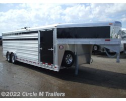 #7224S1 - 2017 Platinum Coach 24' Show Cattle Stock Special 8' WIDE